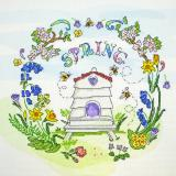 Stickpackung Bothy Threads XAL3 Spring Time 24x24