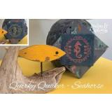 Stickvorlage Darling & Whimsy Designs Quirky Quakers Seahorse