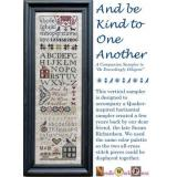 Stickvorlage Needle WorkPress And Be Kind To One Another