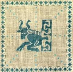Stickpackung Haandarbejdets Fremme 17-2240,05 Sternzeichen Stier 15x15